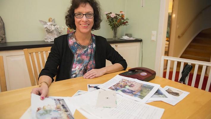 Människor skickar ibland brev med bilder på försvunna djur.
